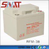 12V 38ah Auto Rechargeable Deep Cycle Valve Regulated VRLA Battery for Generator
