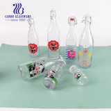 1L Wholesale Custom Logo with Decal or Sub Print Glass Water Juice Wine Honey Soda Beverage and Beer Glass Bottle with Good Price