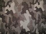 Rayon Nylon Jacquard Camouflage Design Stretch Fabric