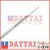 20 AWG Rg59 Coaxial Cable Al Foil Al Braiding