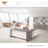 Modern Office Furniture Wooden L Shape Executive Desk (H70-0173)