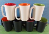 15 Oz Ceramic Assorted Color Coffee Mug & Ceramic Mug