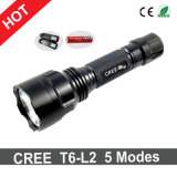 Hot Sale CREE C8/Q5 LED Flashlight+Charger+1X18650 Battery