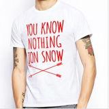 Custom Cotton Printed T-Shirt for Men (M370)