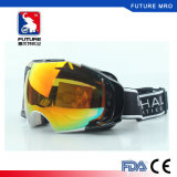 2017 TPU Frame Skiing Goggles Double Layers Anti Fog Lens
