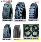 Motorcycle Spare Parts Factory Price 4.00-8 Mrf and Mtl Quality Motorcycle Tyre