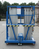 Aluminum Alloy Mast Elevated Work Platform Lift for Sale