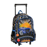 New Design School Trolley Bags for Teenagers with Cooler Print