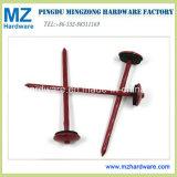 Hot Sales 9gx2.5′′ Red Umbrella Head Roofing Nails