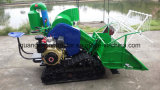 Self-Propelled Full Feeding Type 4lz-0.7 Mini Combine Harvester (rubber track or Tyre Wheel) Harvesting Rice, Wheat, Barley/Agriculture Machine/Farm Machinery/H