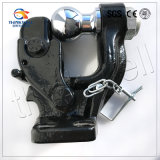 8t Forged Pintle Hook with Ball Receiver Mount Tow Hook