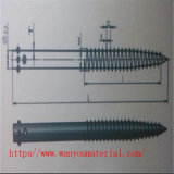 Countersunk Head Carnbon Steel Ground Screw