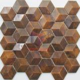 Hexagon Design Copper Mosaic Tile (CFM973)