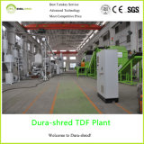 Tire Shredder Recycling Plant for 50-150mm Rubber Chips (TSD832)