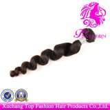 6A Grade 100% Virgin Remy Human Hair Extension Loose Wave Weft (TFH-NL0086)