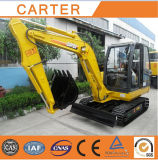 Hot Sales CT45-8b (4.5t) Hydraulic Backhoe Multifunction Crawler Mini Excavator