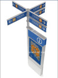 Outdoor Aluminium Way Finding Pylon Sign
