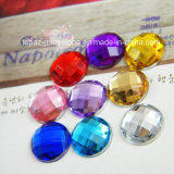 Taiwan Acrylic Flat Back Rhinestone for DIY Accessories (FB-Round 18mm)