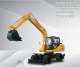 Construction Widely Used China Mini Wheel Excavator with Excavator Parts