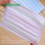 Pink Disposable Medical Face Mask Earloop