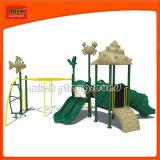 CE Child Plastic Outdoor Playground Equipment for Amusement Park