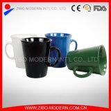 V Shape Ceramic Coffee Mug, Light Ceramic Cup with Handle