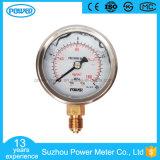 Stainless Steel Bottom Thread Type Liquid Filled Pressure Gauge