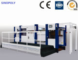 Flatbed Corrugated Die Cutting Creasing Machine with Stripping Automatic Foil Stamping Machine