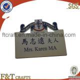 Fashion Hiah Quality Custom Metal Name Plates (FTNP3113)