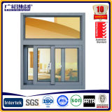 Two Track Aluminum Sliding Window Without Mosquito Net