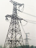 Customed Angle Steel Transmission Tower