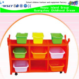 Cheap Price Kindergarten Furniture Plastic Toy Collection Cabinet (HB-04004)