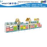 Kindergarten Large Storage Cabinet Wooden Kids Shelf Furniture Hc-3305