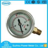 1.5inch-40mm Half Stainless Steel Bottom Liquid Filled Pressure Gauge