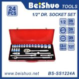 24PC 1/2′′ Dr. Socket Set