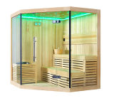Monalisa Freestanding Traditional Style Wooden Dry Steam Sauna Room (M-6036)
