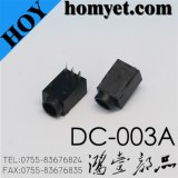 China Factory 3pin Straight DIP DC Power Jack (DC-003A)