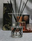 Glass Bottle Aroma Diffuser Reed Diffuser with Ratten Sticks for Home Fragrance