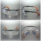 Transparent Lens Black Frame Safety Glasses (SG110)