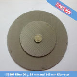 Ss304, 304L, 316, 316L Filter Disc, Extruder Screen Disc