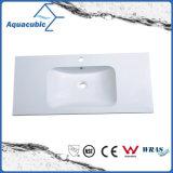Sanitaryware Polymarble Bathroom Sink and Vanity Top (ACB9111)
