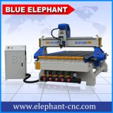 High Quality 3 Axis 1325 CNC Wood Router Machine, 3 Axis CNC Machine with Wheel