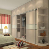 2015 New Push and Pull Door Wardrobe with Fatory Price