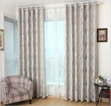 European Style Suede Double-Faced Jacquard Cation Curtain (MM-126)