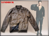 Men′s PU Jacket with Fashion Style