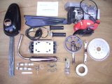 4 Stroke 145f 49cc Bicycle Engine Kits, Whole Motor Kits, Engine Spare Parts