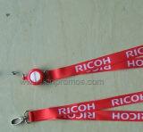 Ricoh Logo Printed Trade Show Company ID Lanyard