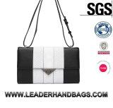 Classic Black Shouldre Bag Leather Handbags (LDO-15723)