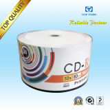 CD-R/DVDR/Bd-R/Dl DVD+R Hub Printable 700MB 80min 52x Virgin Material