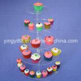 Custom Crystal Clear Acrylic Cake Stand